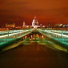 St Paul's At Night by pixeljar
