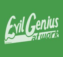 Evil Genius at Work Baby Tee