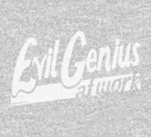 Evil Genius at Work One Piece - Long Sleeve