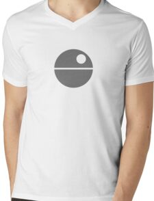 Star Wars - Death Star Mens V-Neck T-Shirt