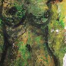 Green Nude by ArtLacoque