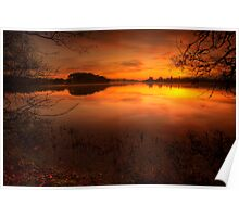 Menteith Sunrise Poster