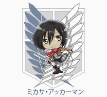 Mikasa Ackerman Baby Tee