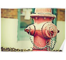 Addiction to Firehydrants Poster