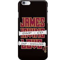 James Doing It All iPhone Case/Skin