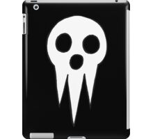 Soul Eater - Lord Death icon iPad Case/Skin
