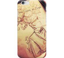 #SaveTheDay Sketches - The Era Eleven iPhone Case/Skin