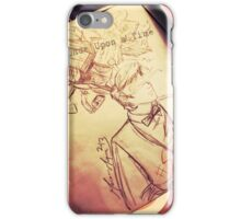 #SaveTheDay Sketches - The Era Eleven iPhone Case/Skin