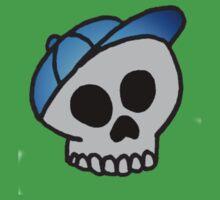 Boyish Skull One Piece - Short Sleeve