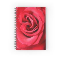 Red Velvet Rose Spiral Notebook