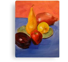 Fruit. 14 x 18. Acrylic. Canvas Print