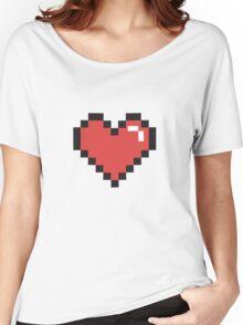 Pixel Heart! Women's Relaxed Fit T-Shirt