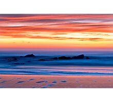 Ocean Shores Sunset Photographic Print