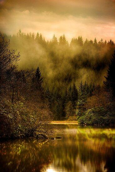 Autumn Mists (2) by Karl Williams