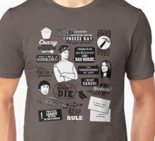 Horrible Quotes Unisex T-Shirt