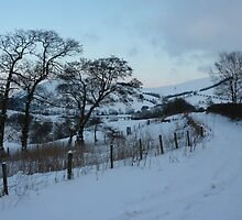 New Radnor snow scene by WyeLookAtThis