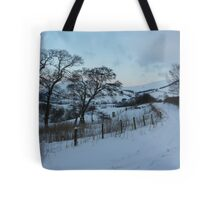 New Radnor snow scene Tote Bag
