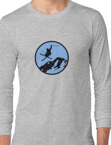 skiing 3 Long Sleeve T-Shirt