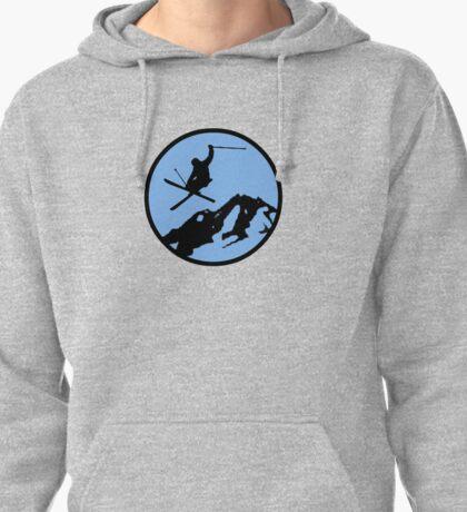 skiing 3 Pullover Hoodie