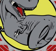 T-Rex Running Team Sticker