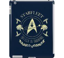 Starfleet Officer In Training (Yellow) iPad Case/Skin