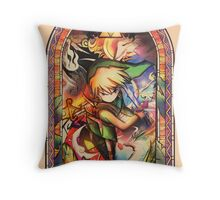 Winds of Flame and Sea - [Wind Waker] Throw Pillow