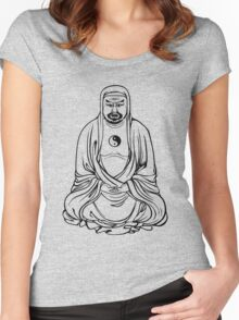 Shady Buddha Women's Fitted Scoop T-Shirt