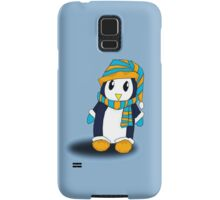 Mr. Penguin likes snow Samsung Galaxy Case/Skin