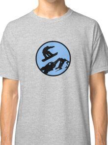 snowboarding 3 Classic T-Shirt