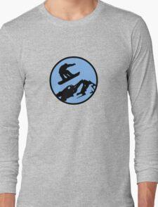 snowboarding 3 Long Sleeve T-Shirt