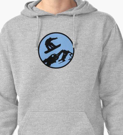 snowboarding 3 Pullover Hoodie