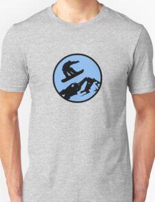 snowboarding 3 Unisex T-Shirt