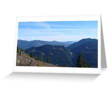 Granite Mountain View Greeting Card