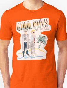COOL GUYS at the BEACH Unisex T-Shirt