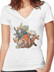 Sengoku Rance Women's Fitted V-Neck T-Shirt