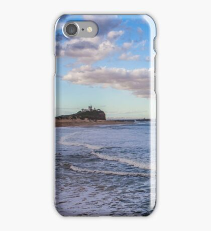 Nobby Beach, Newcastle NSW iPhone Case/Skin