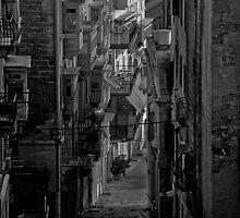 Mono Street Study ---- Valletta malta by Edwin  Catania