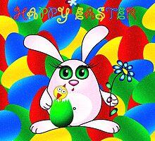 Happy Easter by Beatriz  Cruz