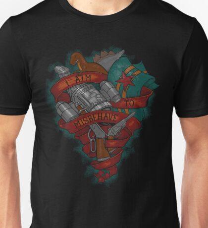 I Aim To Misbehave! Unisex T-Shirt