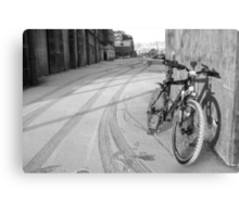 space for one's bike Canvas Print