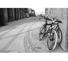 space for one's bike Photographic Print