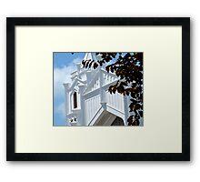Going To........White Framed Print