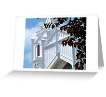 Going To........White Greeting Card