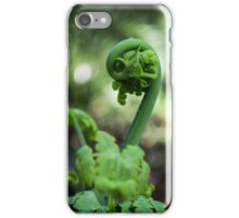 Fern Frond Macro iPhone Case/Skin
