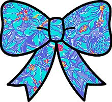 Lilly Pulitzer Inspired Bow Mai Tai by mlr28blu