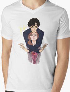 Sherlolly Control Mens V-Neck T-Shirt