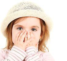 Shocked Little Girl by Tom Prokop