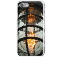 Edison industrial light (Crystalized) iPhone Case/Skin