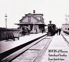 Kingston Station 1875 - Rhode Island - Poster by Jack McCabe