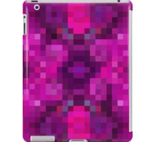 Vermillion Grid iPad Case/Skin